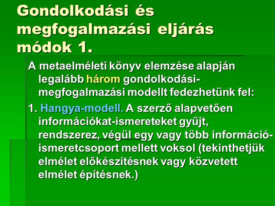 Metaelméleti konferenciák, előadások (2006)  Március 24.
