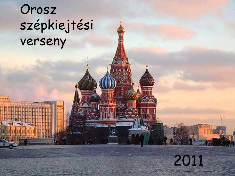 Orosz szépkiejtési verseny 2011