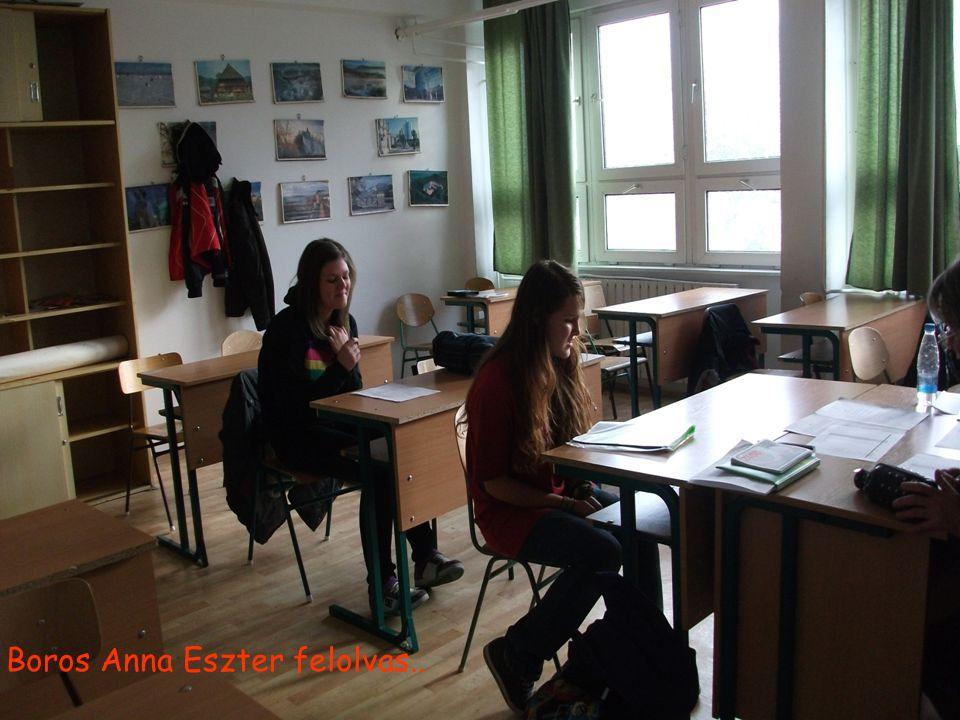 Boros Anna Eszter felolvas..