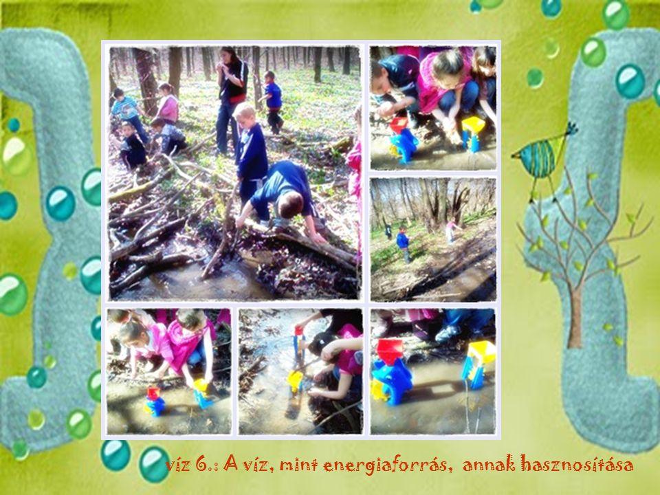 víz 6.: A víz, mint energiaforrás, annak hasznosítása