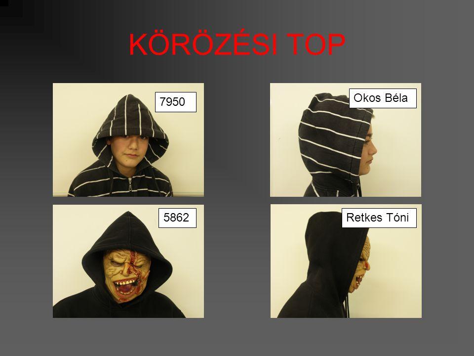 KÖRÖZÉSI TOP 2611Csónakos Lali 1122Akciós Áron