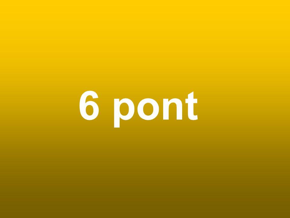 6 pont