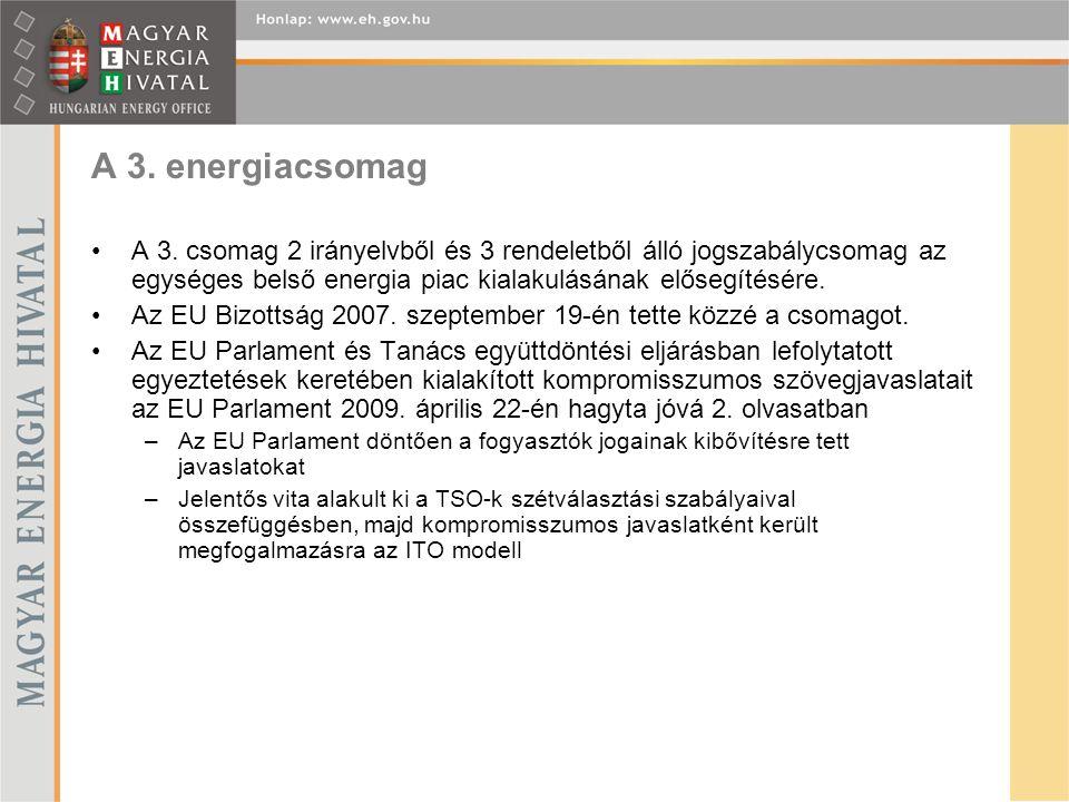 A 3. energiacsomag A 3.