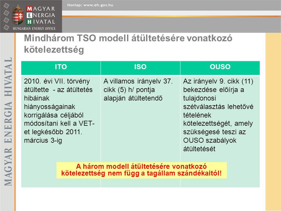 A tanúsítási eljárás A tagállam nagyfokú szabadságot élvez a belső jogrend alakításában, minden modell védhető Brüsszelben, de a tanúsítási szabályrendszert nem a magyar jogalkotás határozza meg.