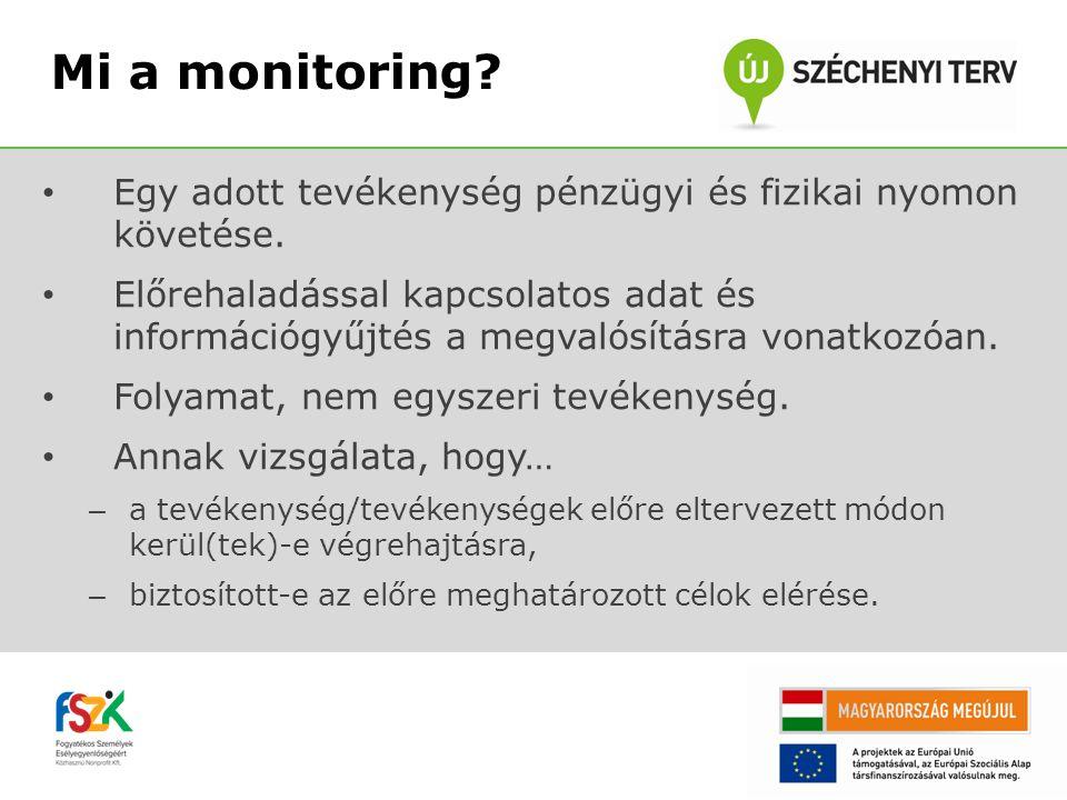(1)az értékelés (a szolgáltatások eredményeinek célokhoz viszonyítása), (2)a monitorozás (a szolgáltatások időbeli, szakmai, minőségi, pénzügyi előrehaladásának és megvalósulásának vizsgálata) (3)ellenőrzés (az erőforrások felhasználásának adminisztratív, jogi, pénzügyi szabályszerűségeit vizsgáló tevékenység).