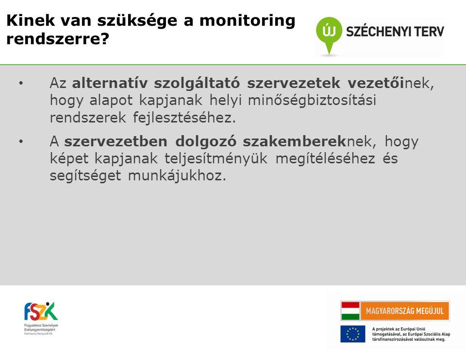 Megtörténik a TÁMOP-5.3.8-A3 pályázatban nyertes szervezetek helyszíni monitorozása.