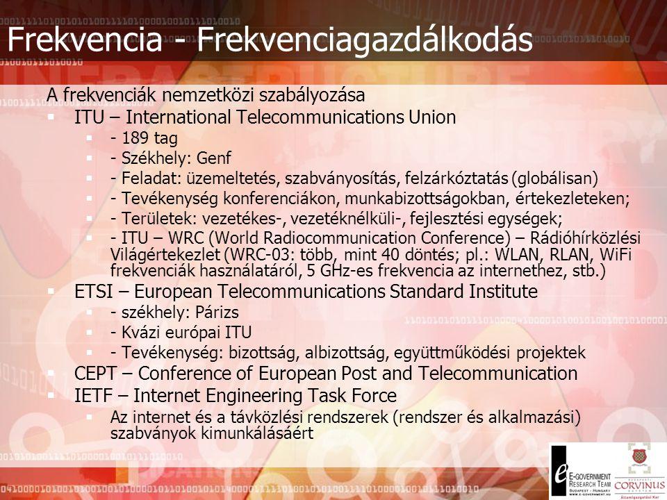 Fontosabb adatátviteli rendszerek Zsinór nélküli rendszerek - Cordless nem egyenlő a mobiltelefonokkal (eltérő rendeltetés, eltérő működés) - Vezetékes rendszerekhez tartozik, azok meghosszabbítása – korlátozott mobilitás - CT (Cordless Telephone) pl.: lakásokban - DECT (Digital European Cordless Telecommunications) – max.