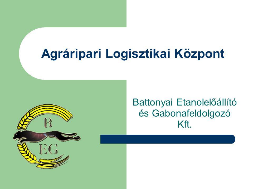 A Bio-Etanol Projekt Tervezett Ütemezése A projekt előkészítése megtörtént Ingatlan rendelkezésre áll Pénzügyi, szakmai befektetőkkel történő tárgyalások eredményeként történő megállapodás 2006 Június 30-ig Tervezés engedélyeztetés 2006 Beruházás megkezdése 2007 Beruházás befejezése 2008 B.E.G.