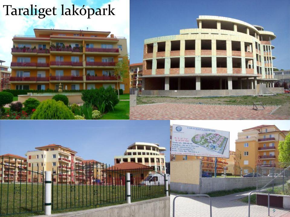 Taraliget lakópark 9