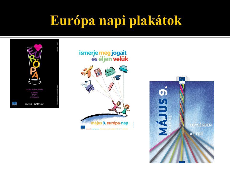 """ Több évszázados gondolat  A felismerés: """"Egységben az erő  Fő cél: Tartós stabilitás és jólét  1951: Montánunió ( Európai Szén- és Acélközösség )  1957: EGK, Euroatom ( Európai Gazdasági Közösség, Európai Atomenergia Közösség )  1992."""