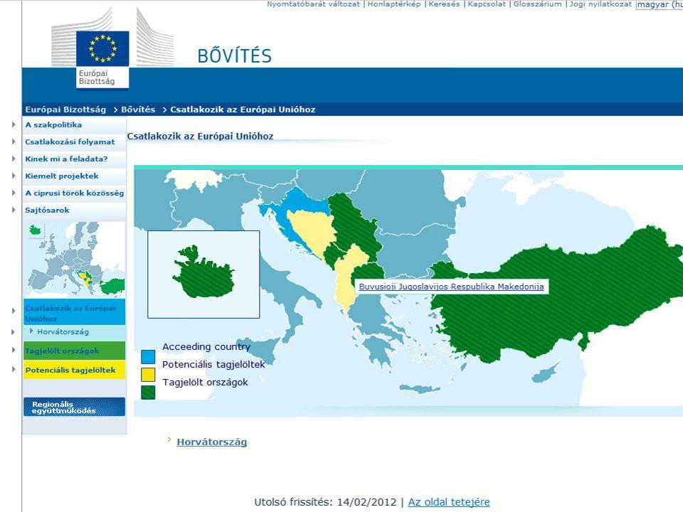 Országonkénti értékelés - Szerbia 2005-ben kezdődtek meg a tárgyalások a stabilizációs és társulási szerződés megkötésére, de hosszú ideig felfüggesztették a nemzetközi büntetőtörvényszékkel való együttműködés megtagadására tekintettel A szerződést 2008-ban írják alá 2009: benyújtja csatlakozási kérelmét 2012.