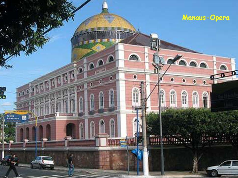 Manaus-Opera Épült 1896-ban