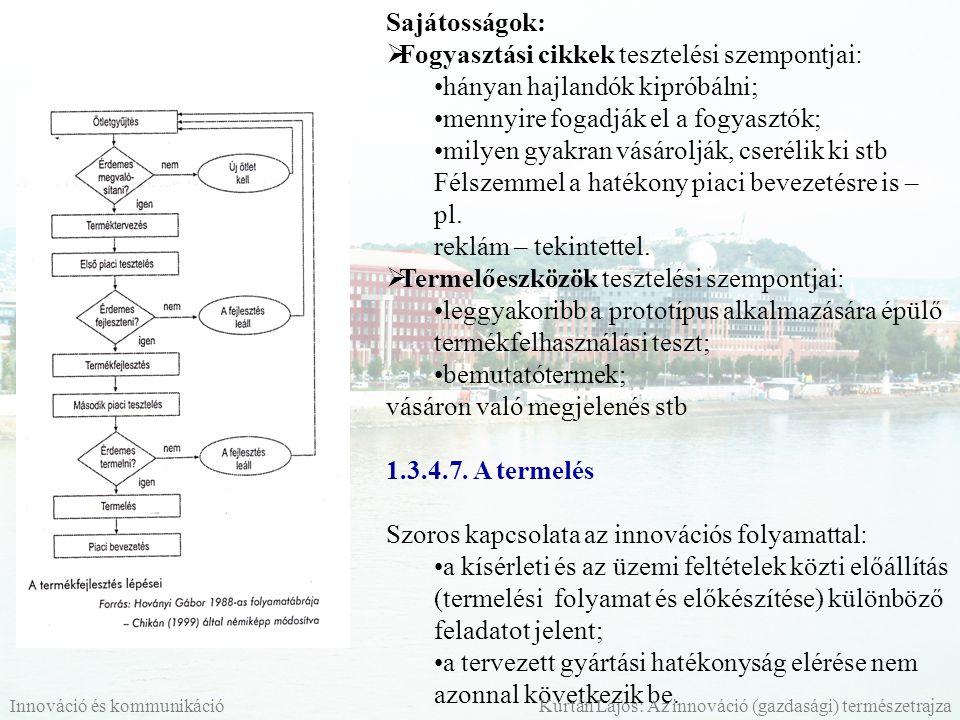 1.3.4.8.A piaci bevezetés A bevezetés 4 alapkérdése (Kotler szerint): mikor.