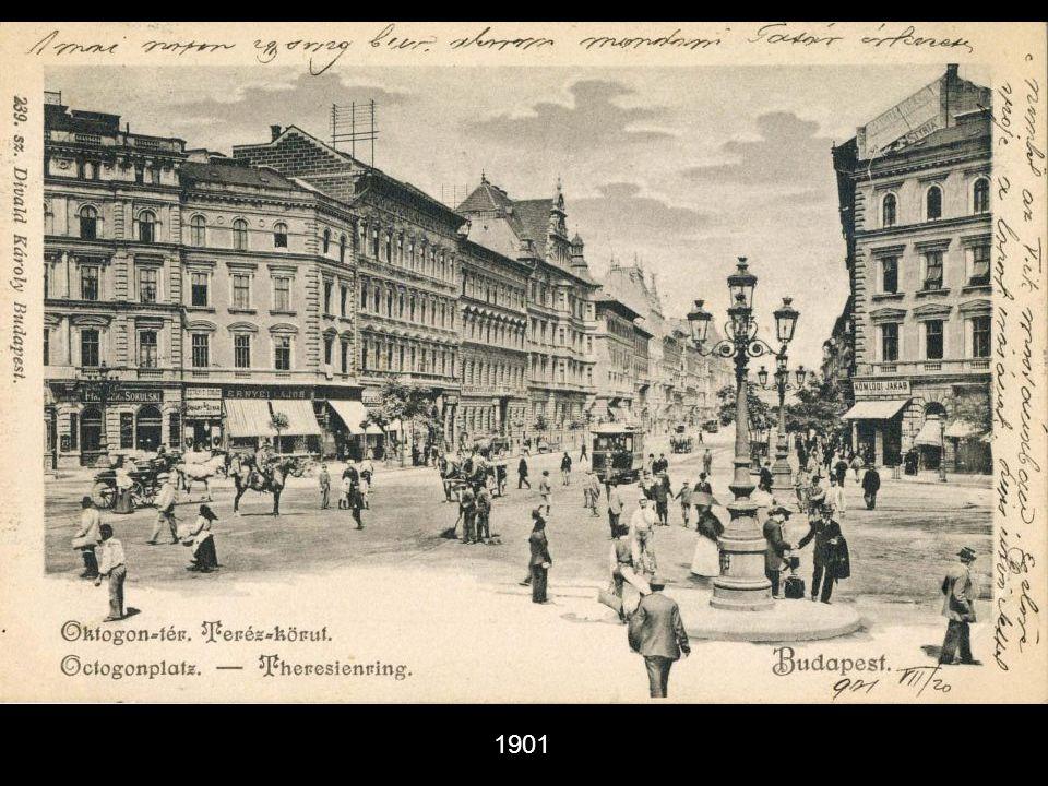 Kígyó tér(a mai Ferenciek tere ) - 1901