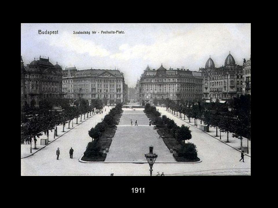 Guttenberg téren a Guttenberg Otthon-1907