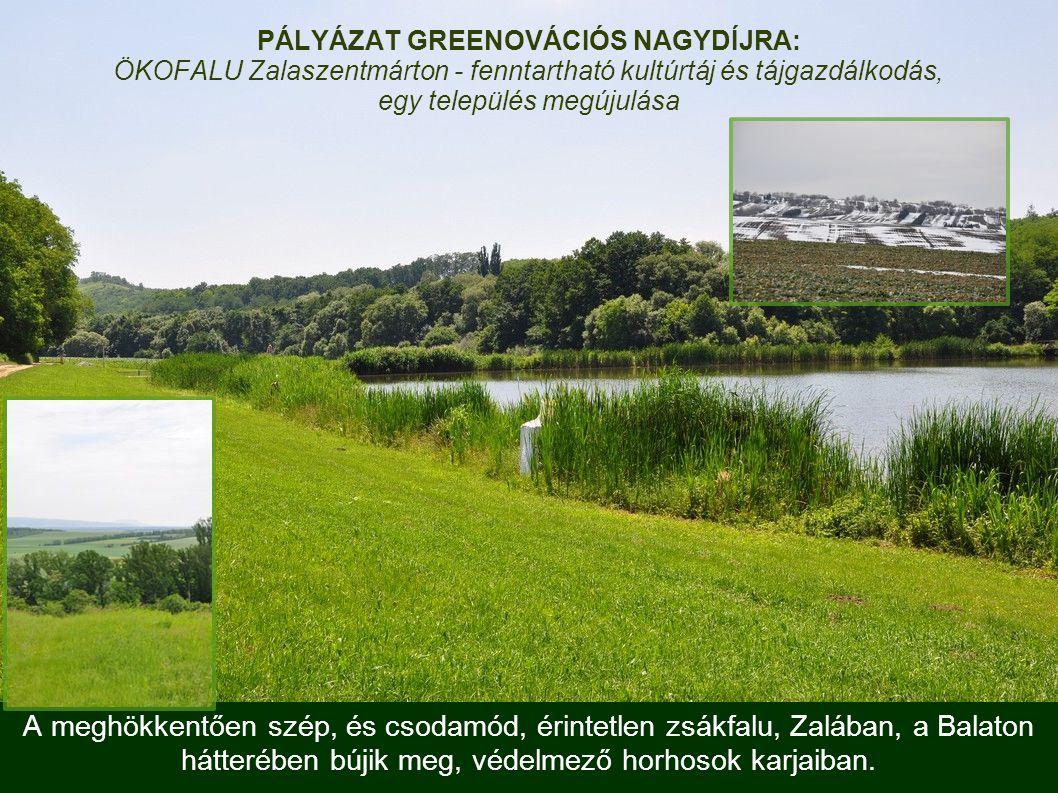 A meghökkentően szép, és csodamód, érintetlen zsákfalu, Zalában, a Balaton hátterében bújik meg, védelmező horhosok karjaiban.