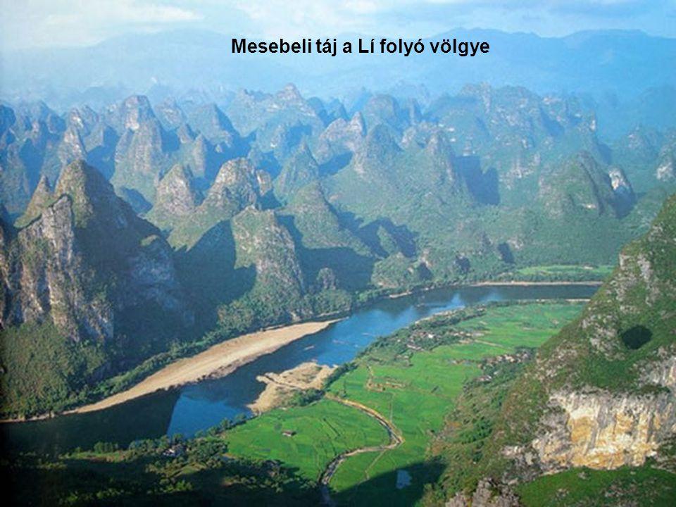 Yangshuo és a Lí folyó