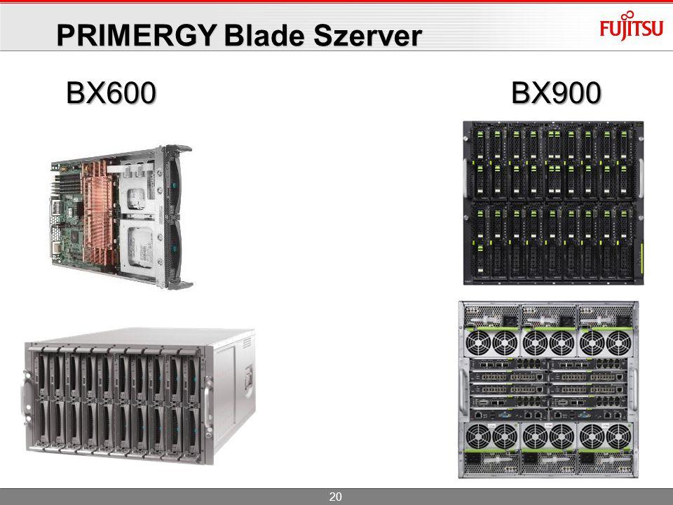 PRIMERGY Blade Szerver BX600BX900 20