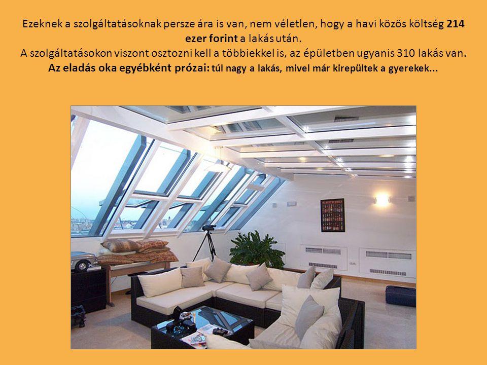 A társasház egyébként szolgáltatásokban nem marad el a Burzsuj blogon más posztokban szereplő több milliárd forintba kerülő külföldi ingatlanoktól.