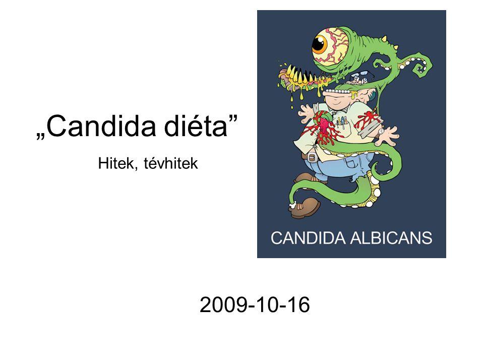Élelmiszer allergia A Candida elleni diétát terápiásan alkalmazók szerint a Candida-fertőzötteknél gyakoribb az élelmiszer-allergia egyéb élelmiszerfélékre (tejre, búzára stb.) Az ilyen élelmiszereknek az étrendből való kiiktatása azonban csak bizonyított allergia esetén indokolt, mivel fontos, más módon nehezen pótolható tápanyagok felvételének a csökkenésére vezethet.