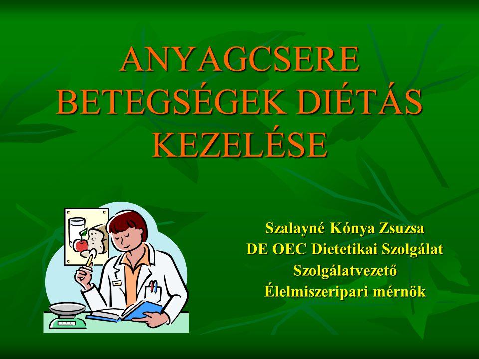 Obesitas oÖnálló betegség o Számos betegség rizikófaktora (hypertónia, hyperlipoproteinaemia, diabetes mellitus) (hypertónia, hyperlipoproteinaemia, diabetes mellitus)