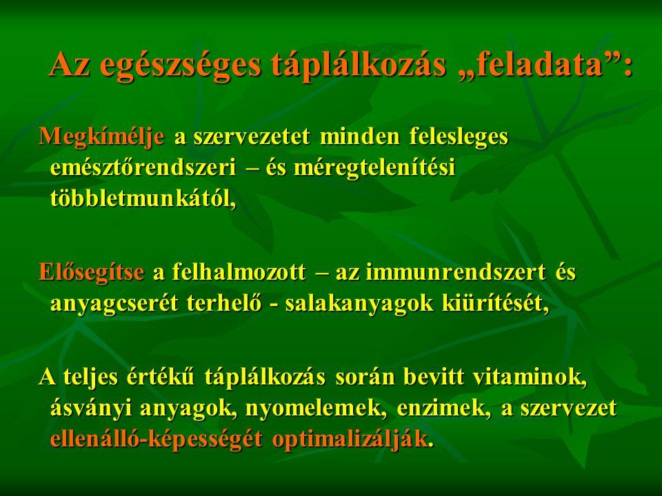 A ZSIRADÉKOK FONTOSABB SZEREPE : - Kitűnő energiaforrások és a szervezetben raktározott zsiradék felhasználható energianyerésre.