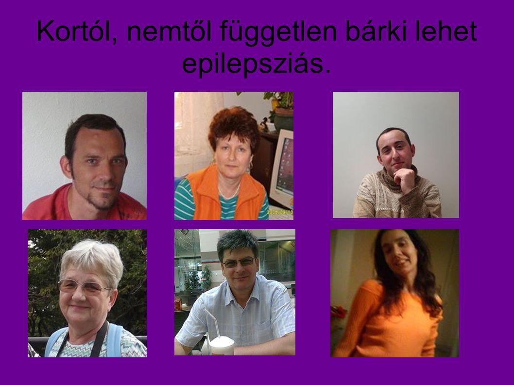 Kortól, nemtől független bárki lehet epilepsziás.
