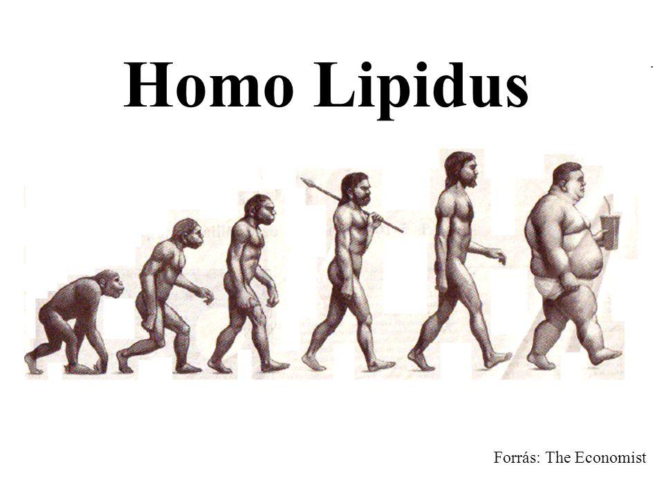 Homo Lipidus Forrás: The Economist