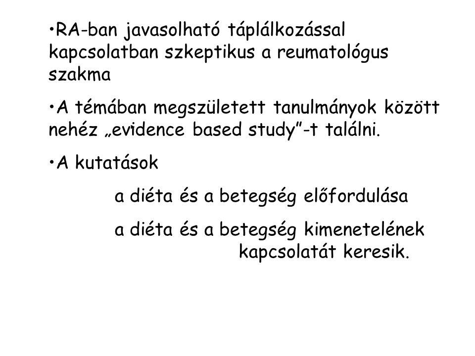 A DAS és a CRP első és a negyedik vizit közötti változásainak összefüggése -SG betegek DAS diff