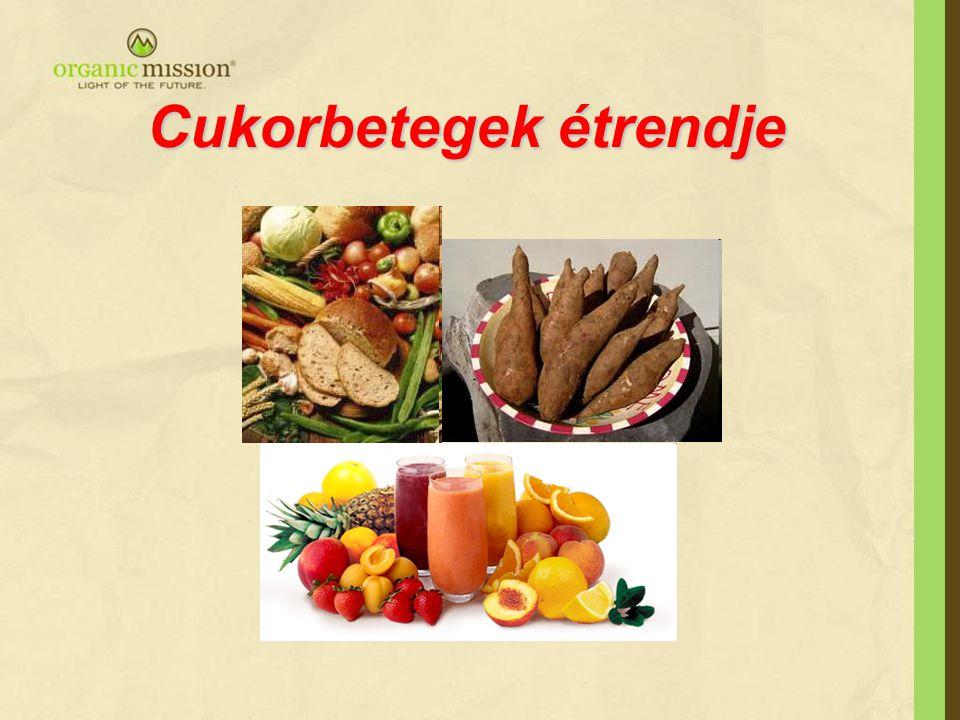 Cukorbetegek étrendje