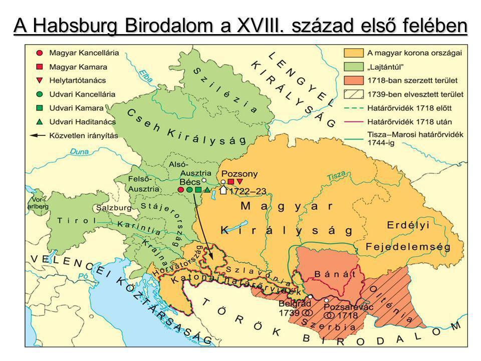 A Habsburg Birodalom a XVIII. század első felében