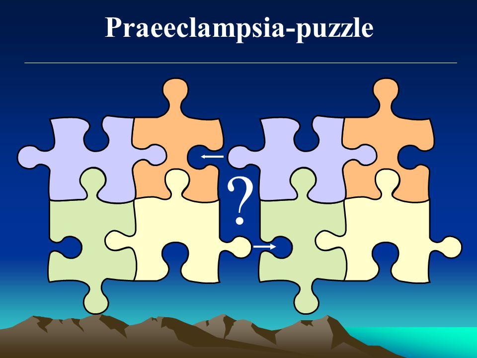 Praeeclampsia-puzzle ?
