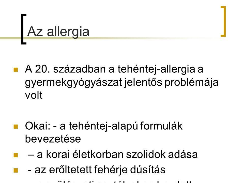 Az allergia A 20.