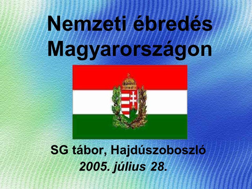"""A 18 században: a szatmári békét betartják, mert az Udvarnak szüksége van Magyarország katonai és anyagi segítségére: és ez a nemeseknek jó így – a Pragmatica Sanctio is erről szól 1741: Mária Teréziáért """"életüket és vérüket még a középkorban élnek"""