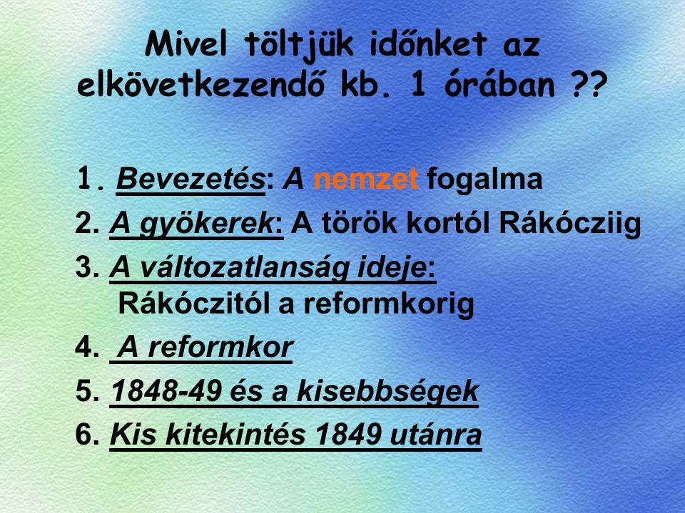 Kossuth programja: 1.