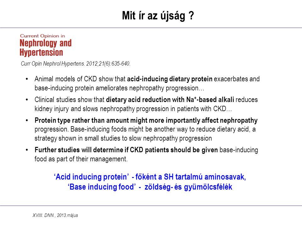 'Acid inducing protein' - főként a SH tartalmú aminosavak, 'Base inducing food' - zöldség- és gyümölcsfélék Mit ír az újság .