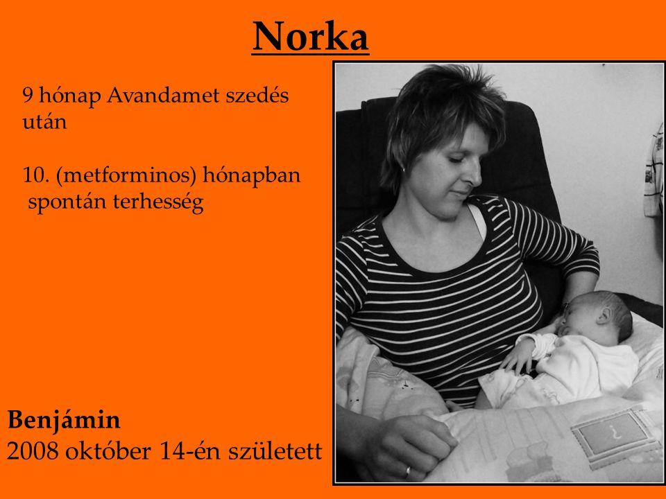 Norka 9 hónap Avandamet szedés után 10.