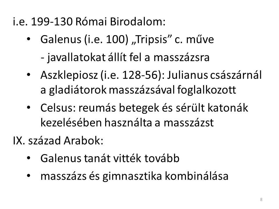 """i.e.199-130 Római Birodalom: Galenus (i.e. 100) """"Tripsis c."""