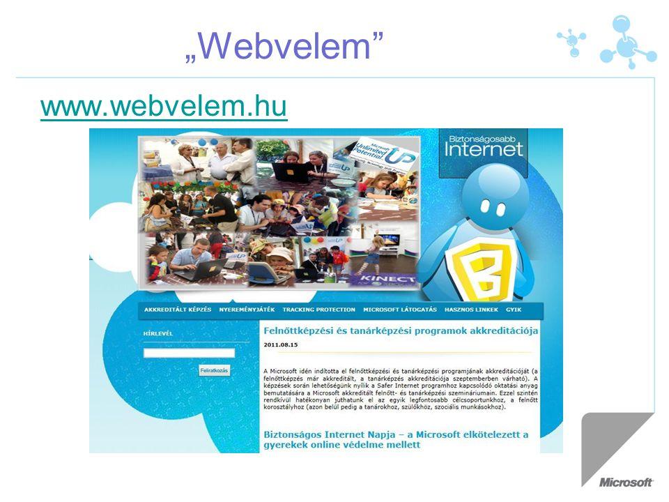 """""""Webvelem"""" www.webvelem.hu"""