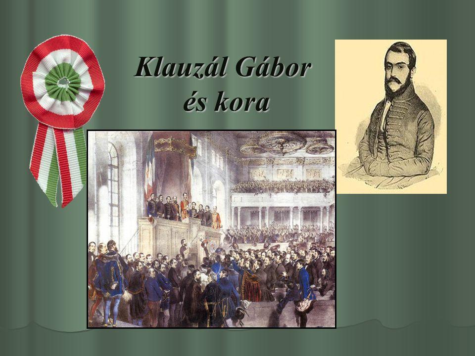 Klauzál Gábor családja Klauzál Gábor nemesi családban, 1804.