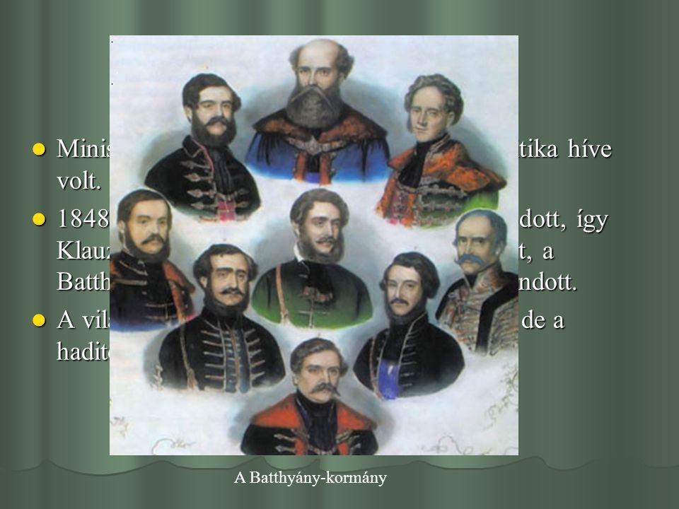 Klauzál Gábor és Deák Ferenc kapcsolata A forradalom leverését követő megtorlás időszakában Klauzál a kistétényi birtokára vonult vissza.