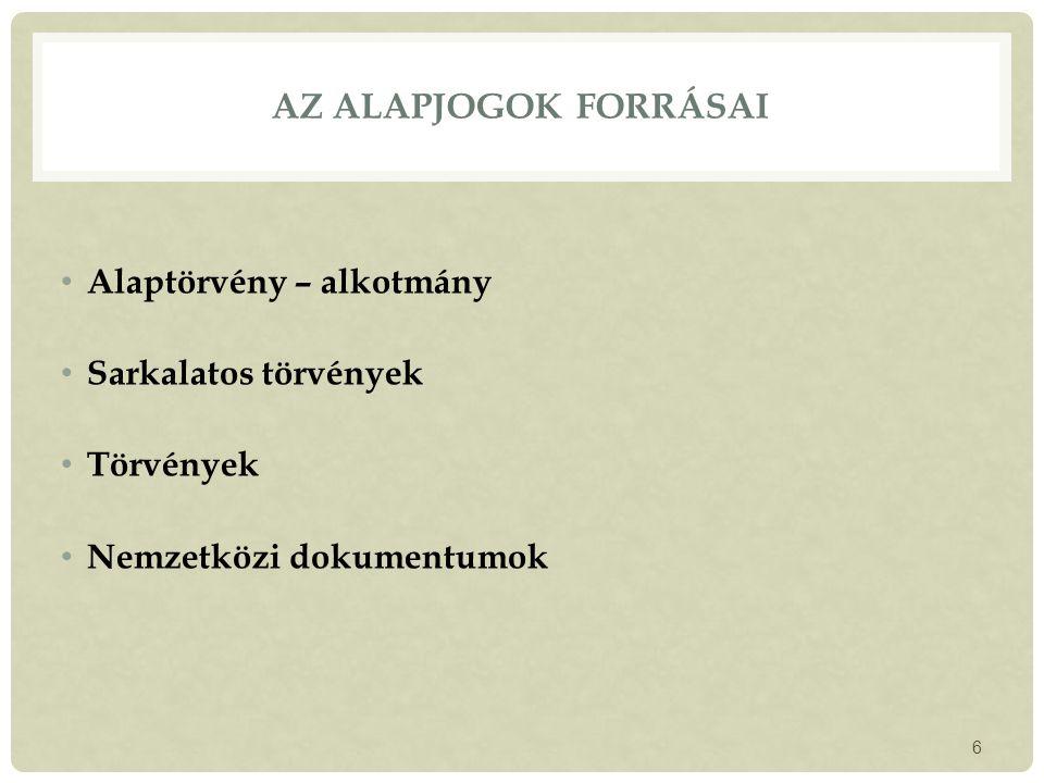 AZ ÖNKORMÁNYZAT SZERVEZETE  Települési önkormányzatok: község város (2013-tól: járásszékhelyi város; város) megyei jogú város (2013-tól: megyeszékhely város, valamint az OGY által az új Ötv.