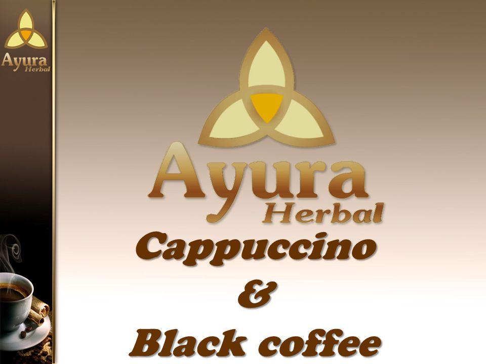 Cappuccino& Black coffee