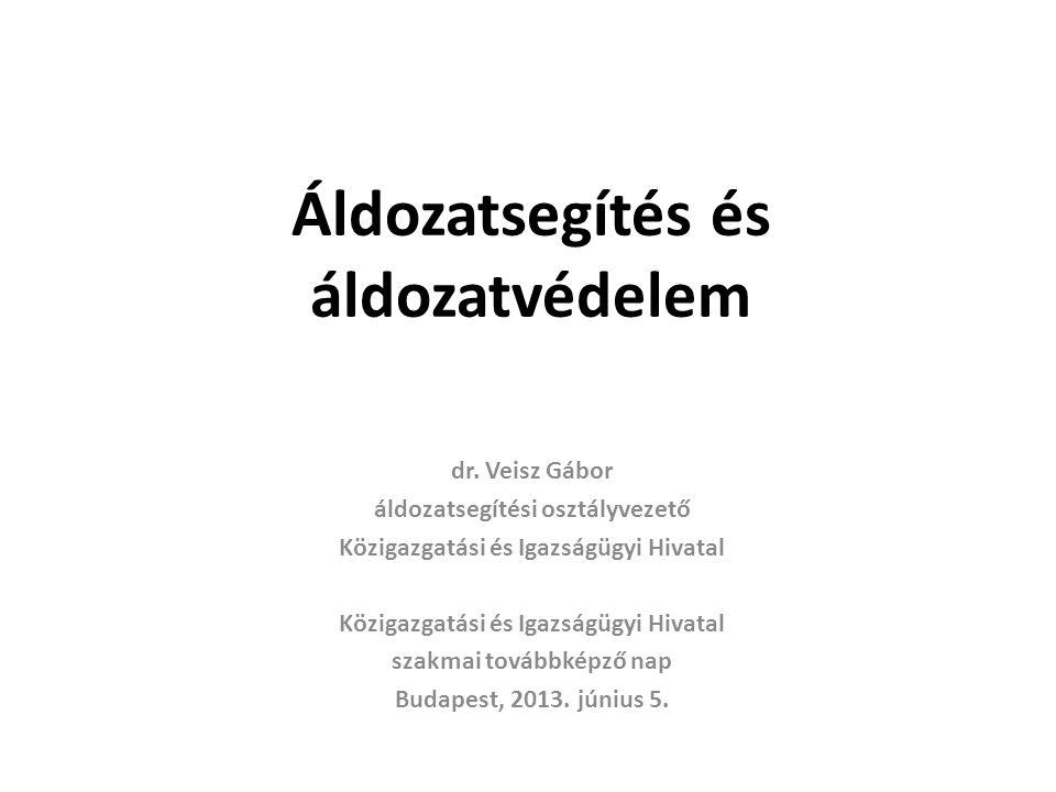 Áldozatvédelmi jogok a 2012/29/EU irányelvben 2.