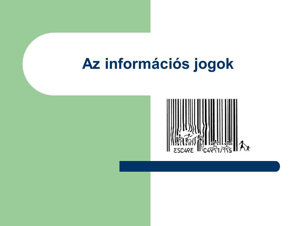 Az információs jogok