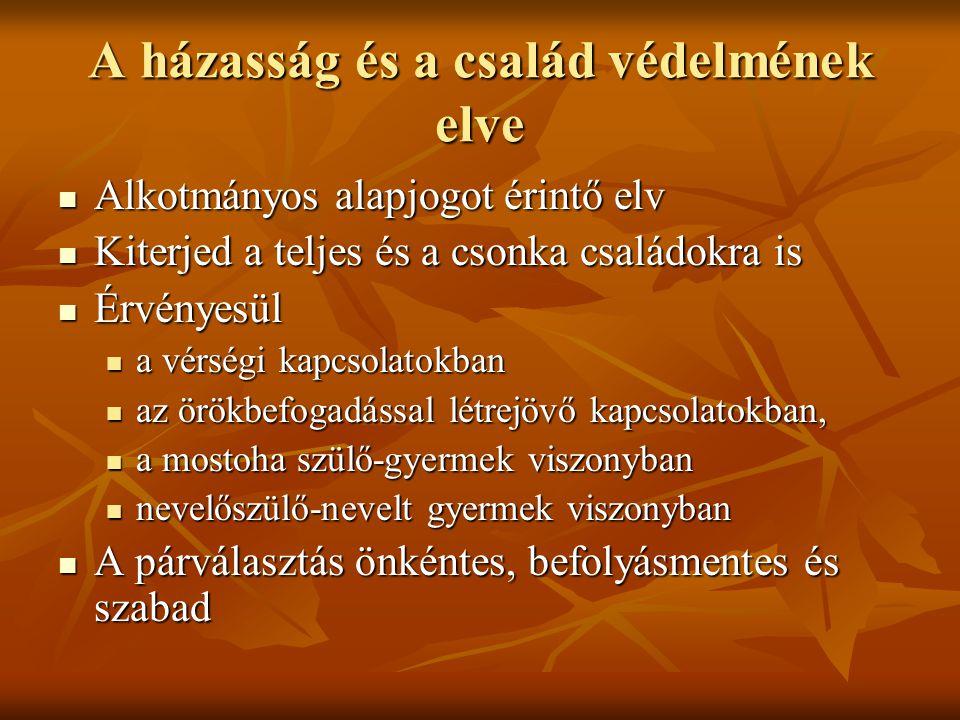 Alkotmányi rendelkezések 70/E.