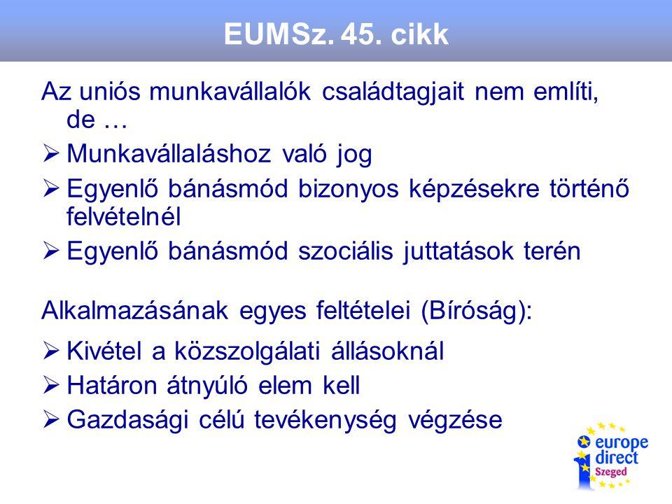 EUMSz. 45.