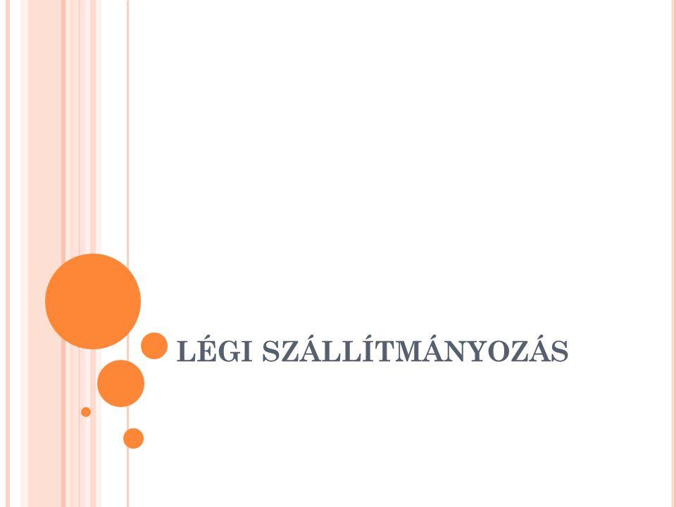 A LÉGI SZÁLLÍTMÁNYOZÁSI SZERZŐDÉS Az áru feletti utólagos rendelkezési jog (szerződésmódosítás) csak a feladót illeti meg, feltéve, hogy a fuvarozási szerződésben vállalt kötelezettségeinek eleget tett.