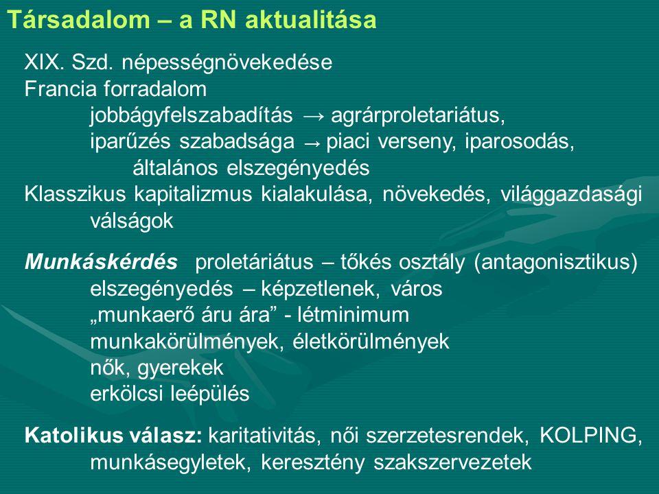 Elméleti megközelítések – a RN előzménye 1.