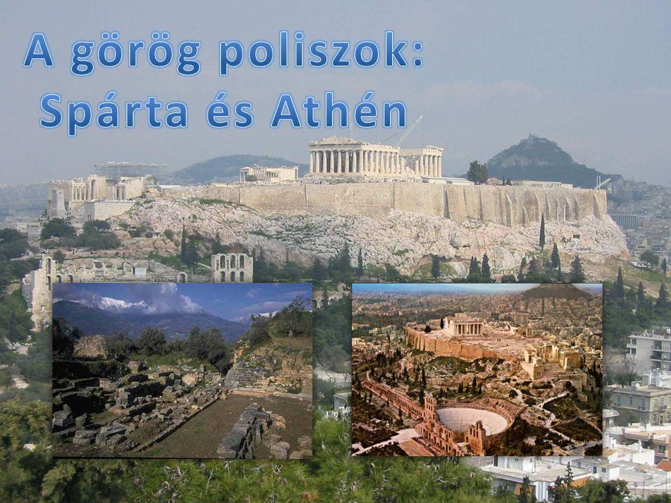 Az ókori Görögország nem volt egységes, hanem több városállamban éltek.